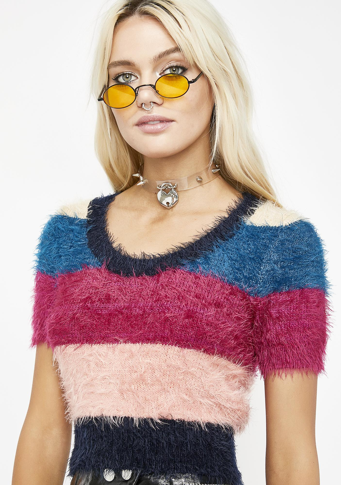 Harriet Fuzzy Sweater