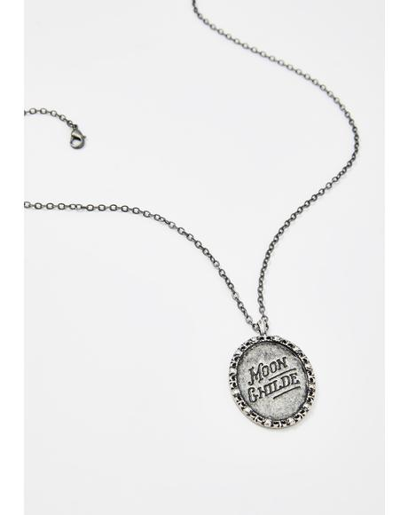 Moon Childe Pendant Necklace