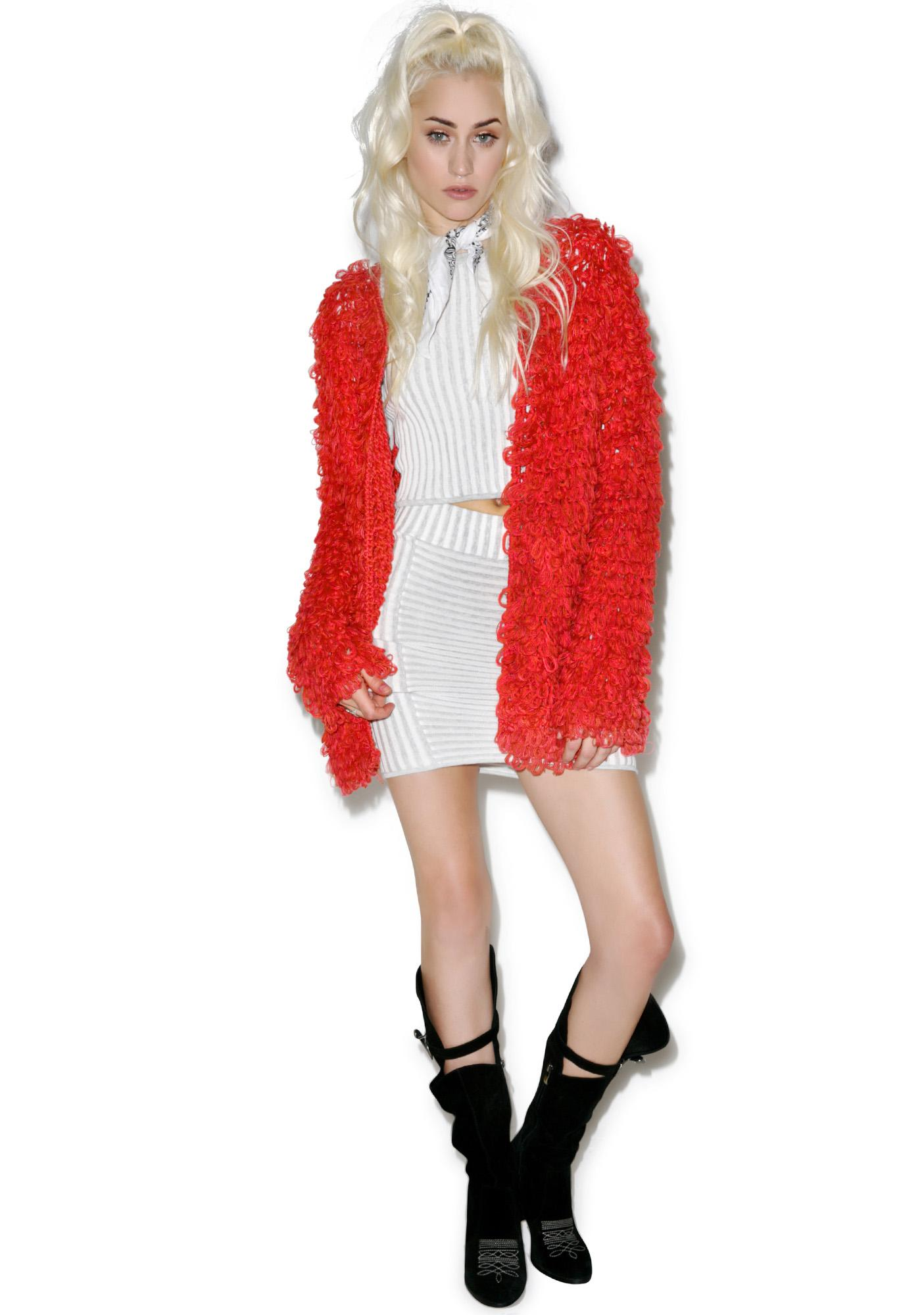 For Love & Lemons Joplin Cardi
