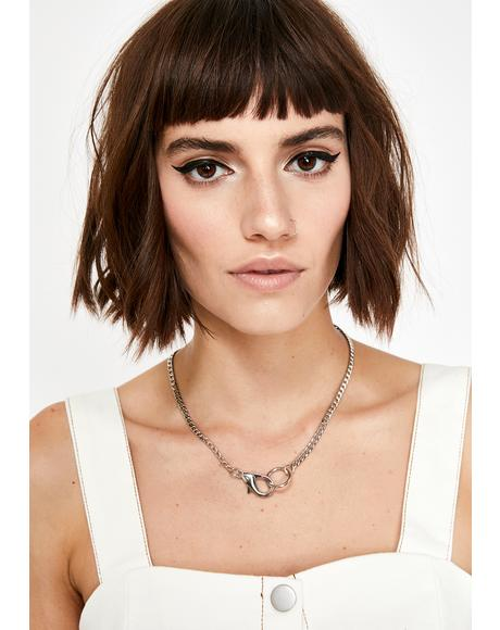 On Lock Chain Necklace