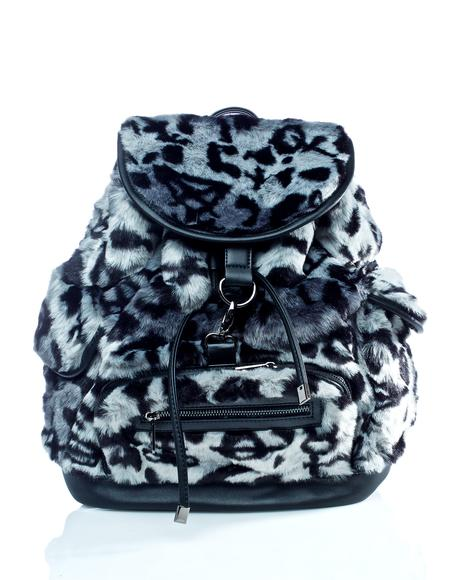 Sinergy Playdate Fur Backpack