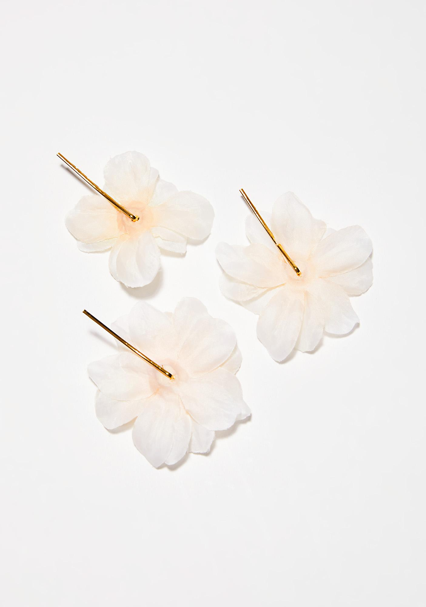 Rock n Rose Franny Flower Hair Pins