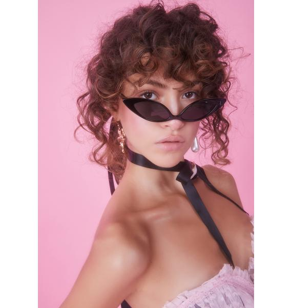 Sassy but Sweet Cat Eye Sunglasses