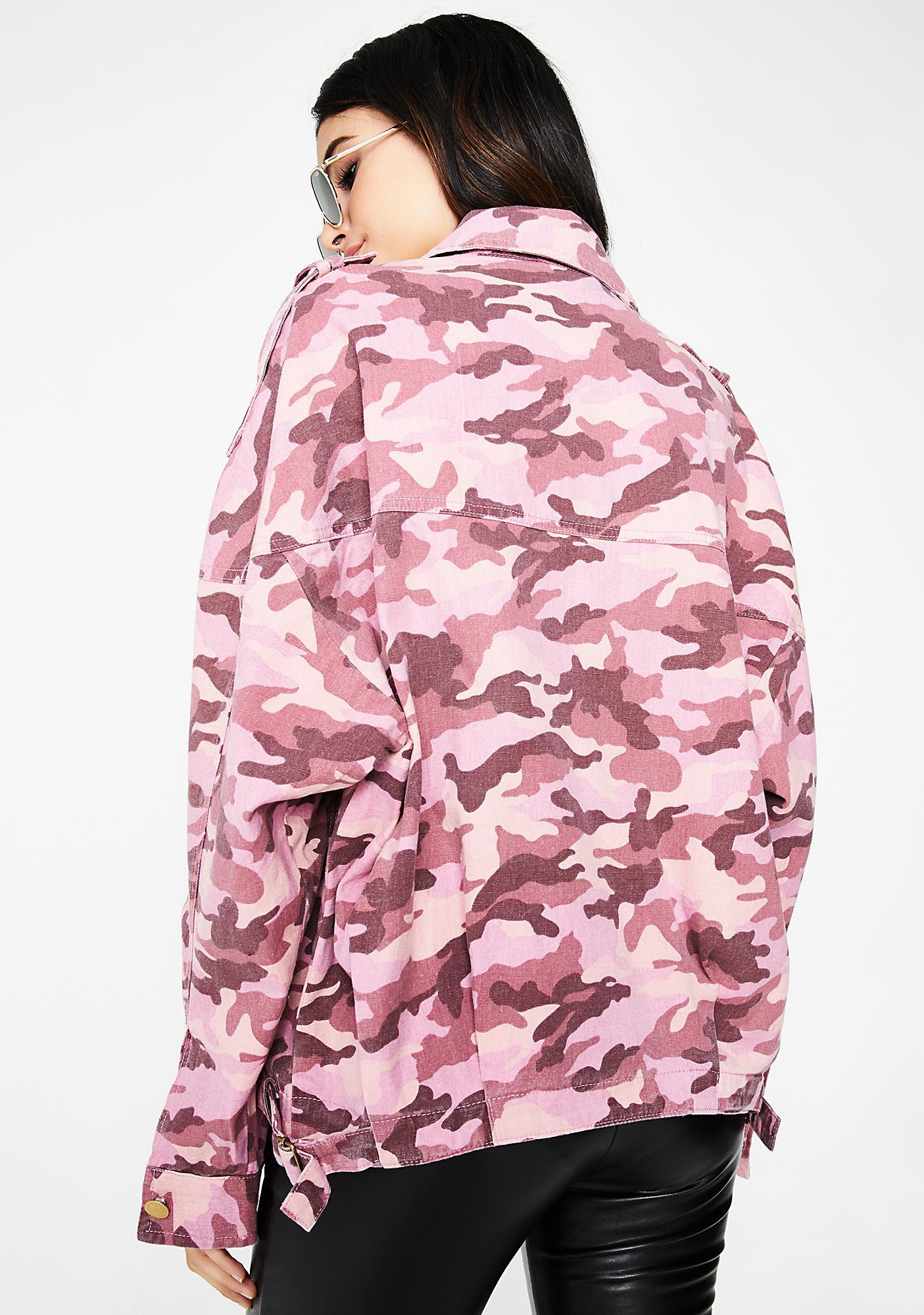 Heads Up Camo Jacket
