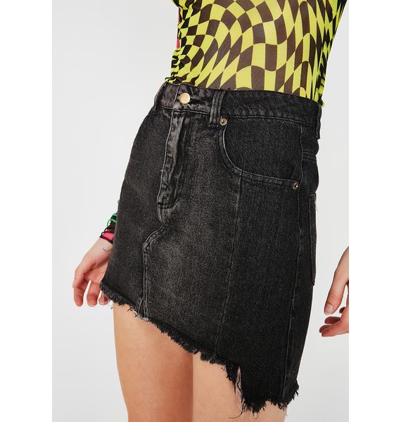 Switch It Up Denim Skirt