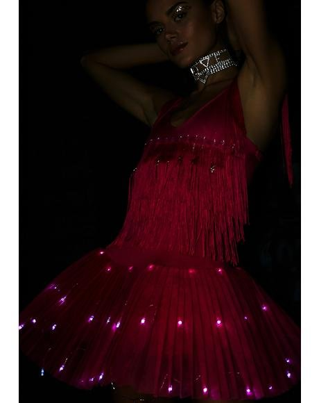 Acid Ballerina Light Up Dress