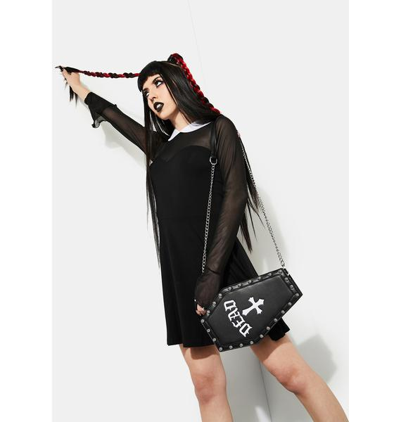 Current Mood Pull Me Under Coffin Crossbody Bag