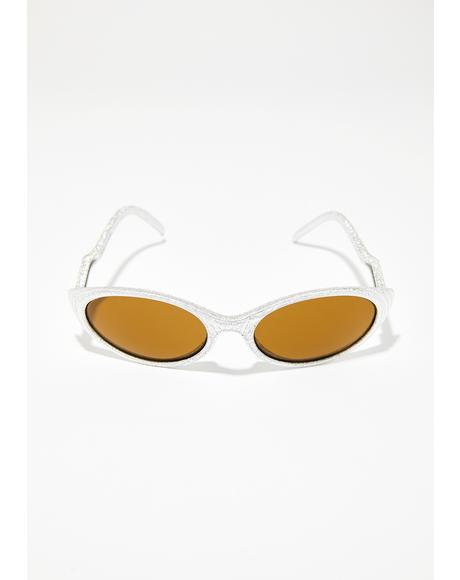 Mellow Minded Cat Eye Sunglasses