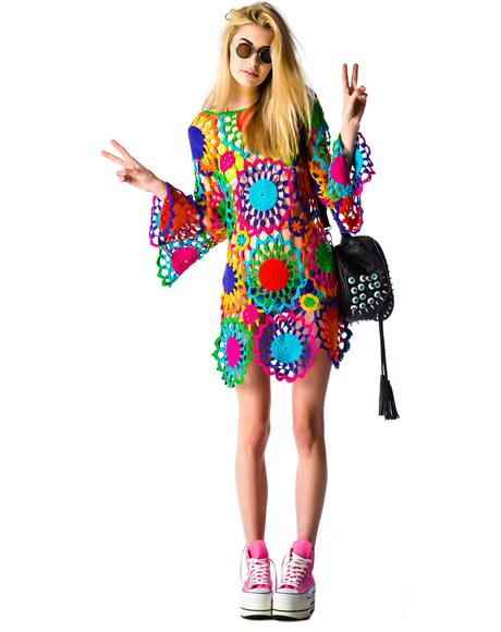 Psych Out Dress