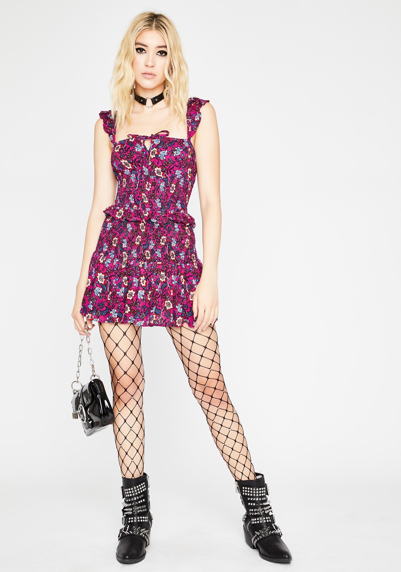 Flirt Fiend Ruffle Dress