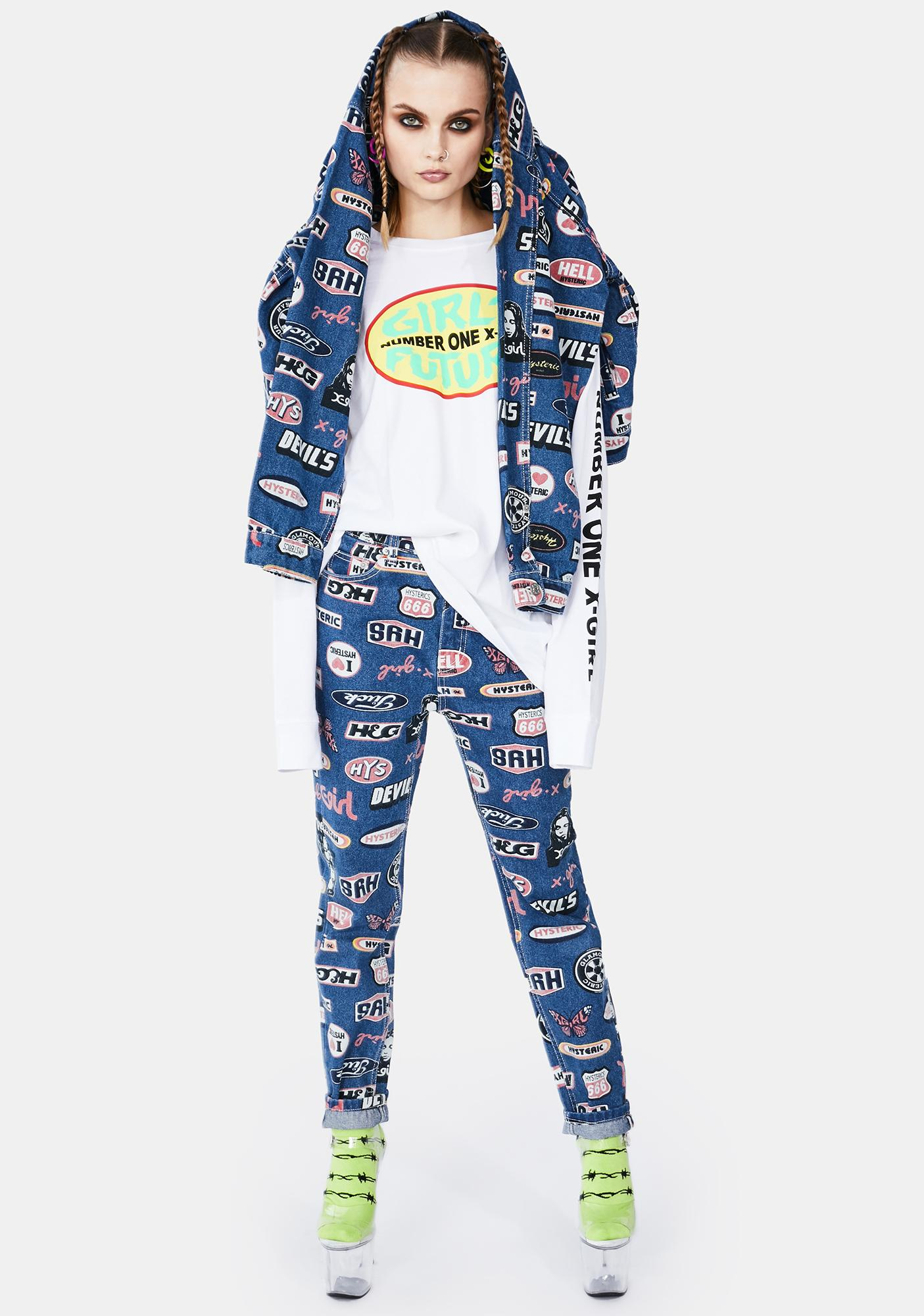 x-Girl Hysteric Glamour Icon Pants