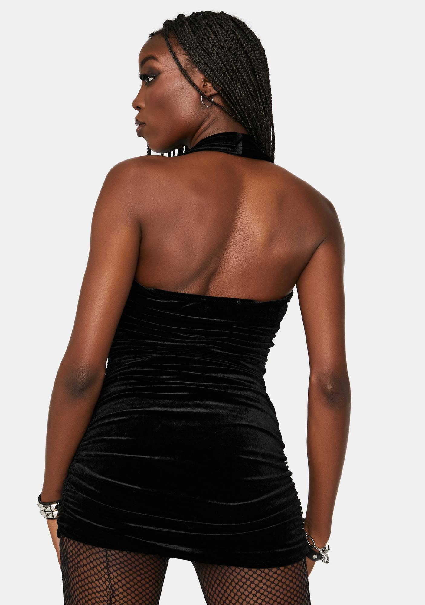 Meet Me Tonight Velvet Bodycon Dress