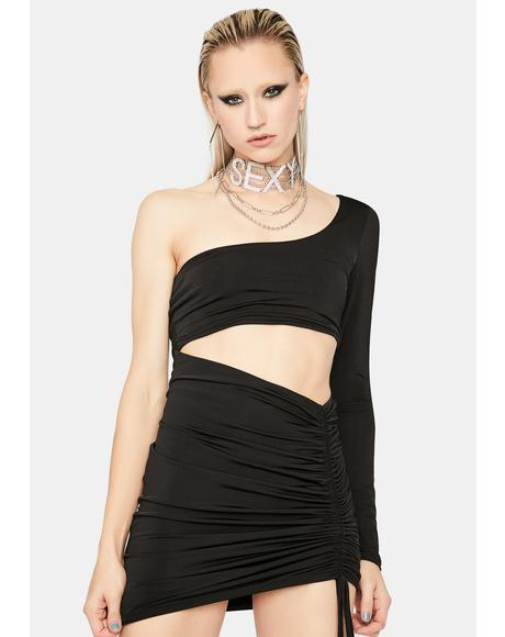 Lust Appeal Cut-Out Mini Dress