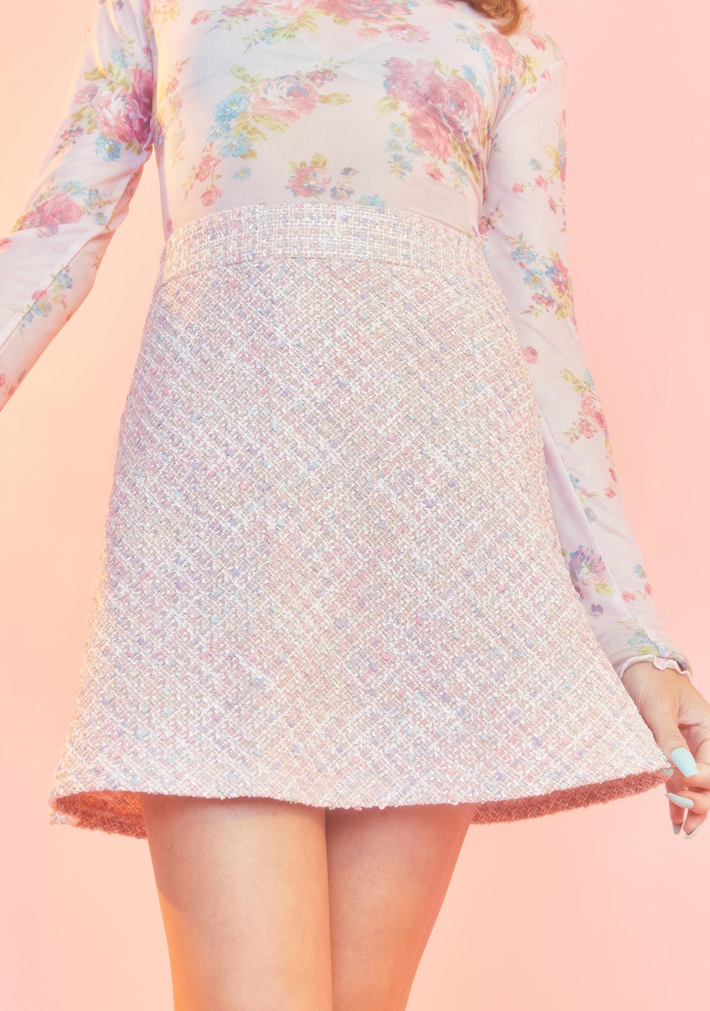 Sugar Thrillz Baby We're Going Shopping Mini Skirt
