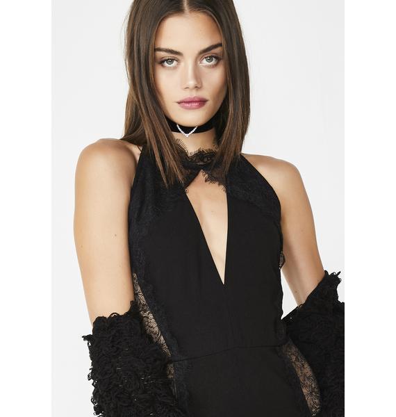 Fatal Flirt Lace Bodysuit