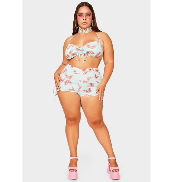 Sky Your Butterfly Fantasy Shorts Set