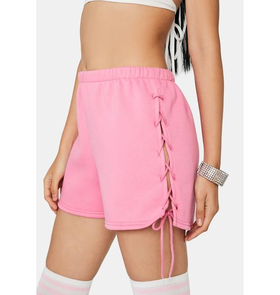 Bubblegum Lay It On The Line Lounge Shorts
