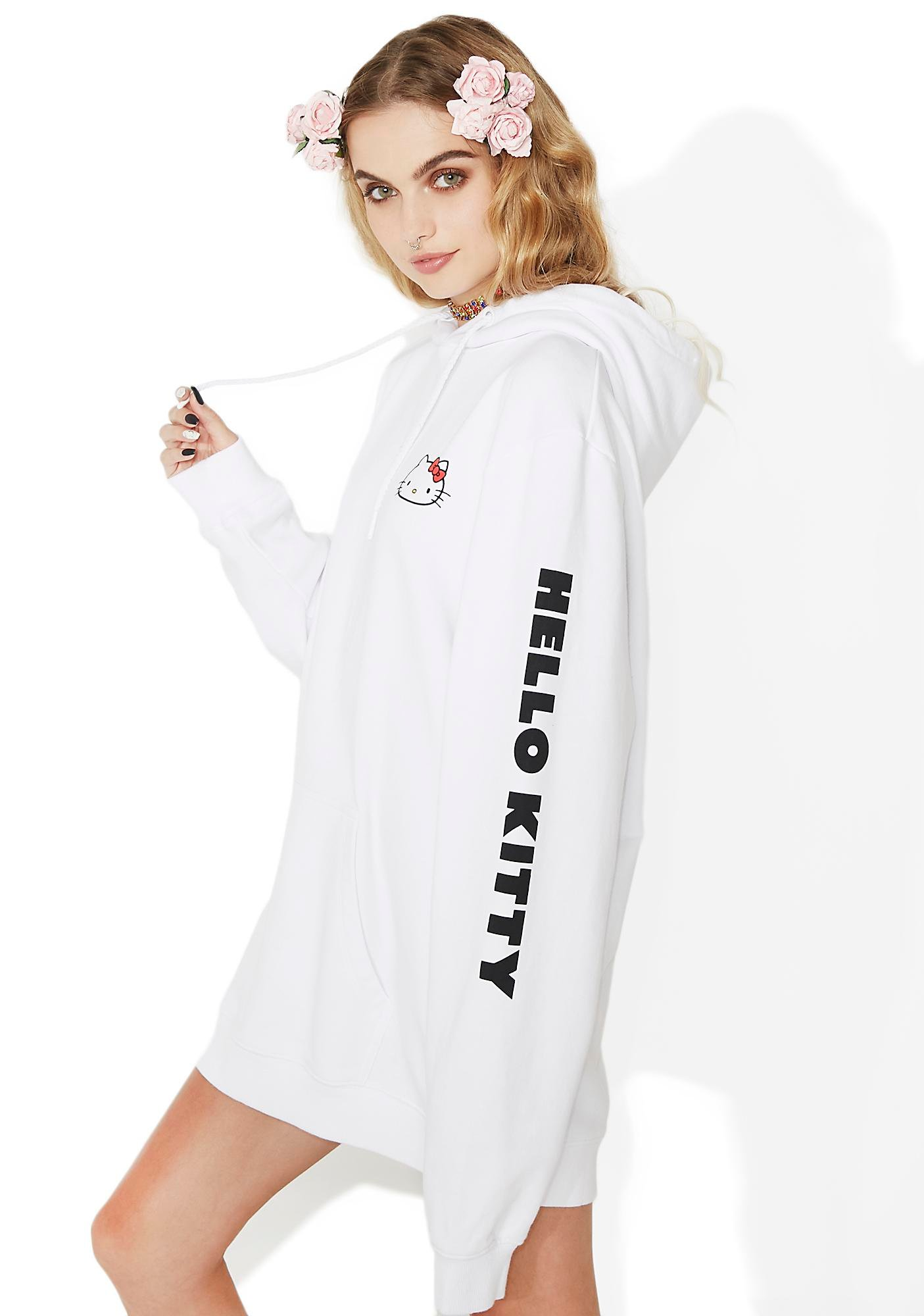 Lazy Oaf Hello Kitty Oversized Hoodie
