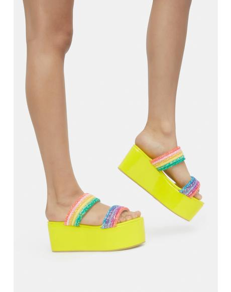 Candy Crazy Platform Slides