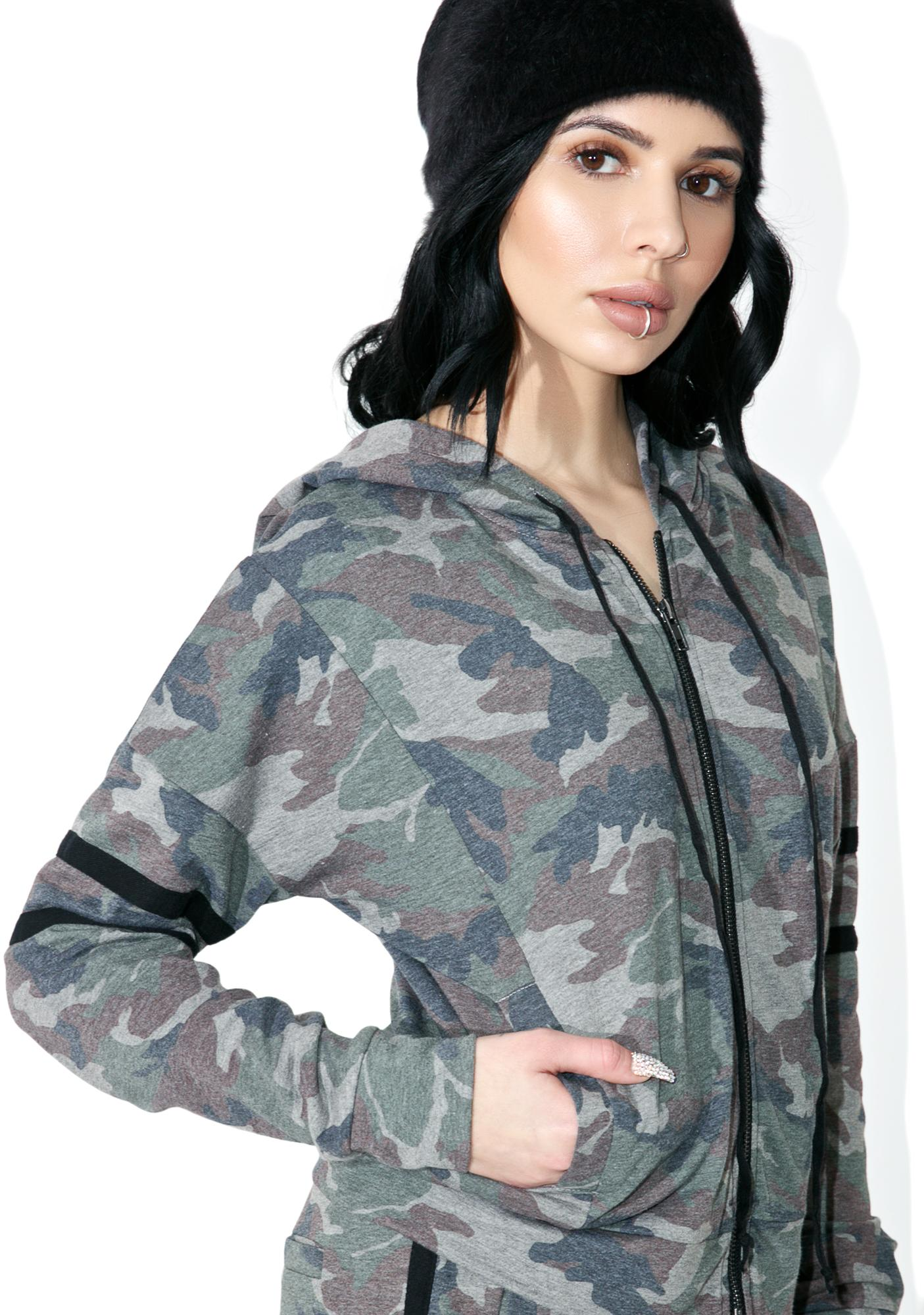 In Plain Sight Camo Hoodie
