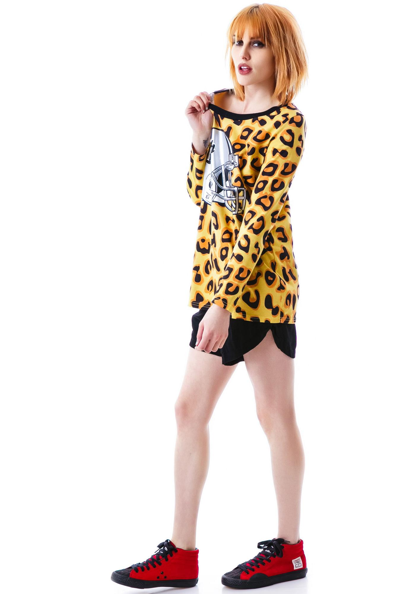 Joyrich Candy Leopard Helmet Long Sleeve Tee