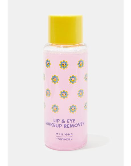 Minions Lip & Eye Makeup Remover