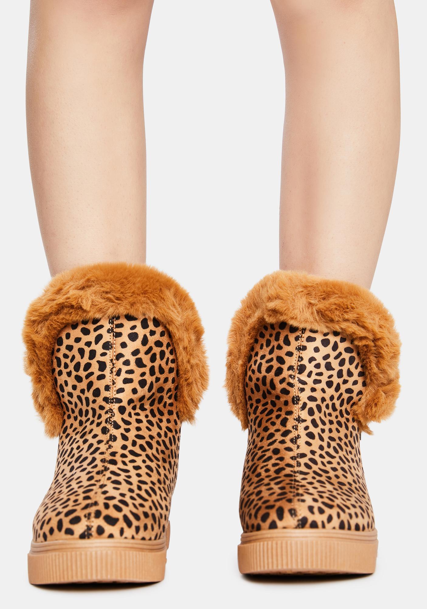 Kitty Make Me Like You Faux Fur Boots
