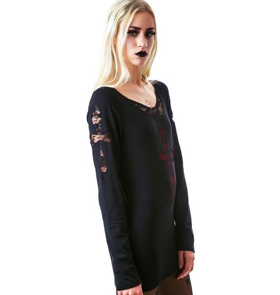 Stations of the Cross Lace Shirt