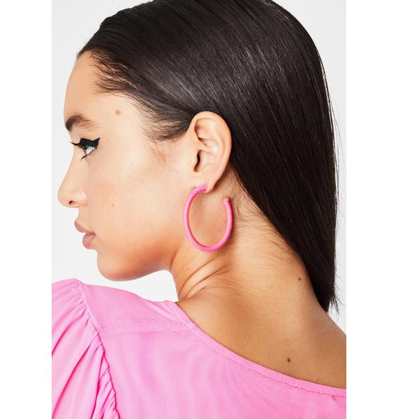 Sugar Do Me Right Hoop Earrings