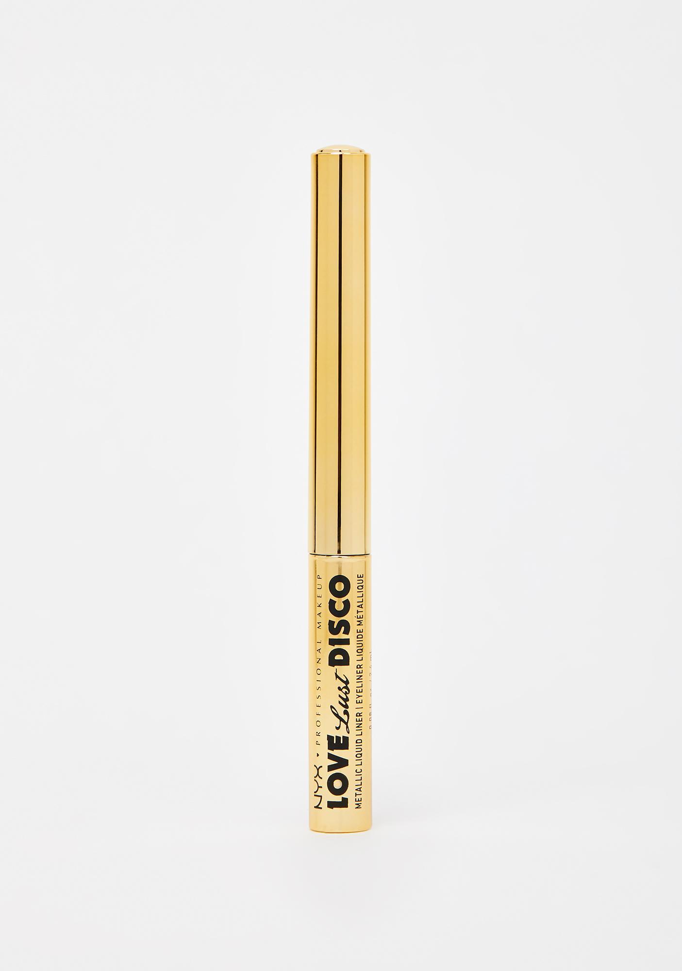 NYX Professional Makeup Love Lust Disco Metallic Liquid Liner