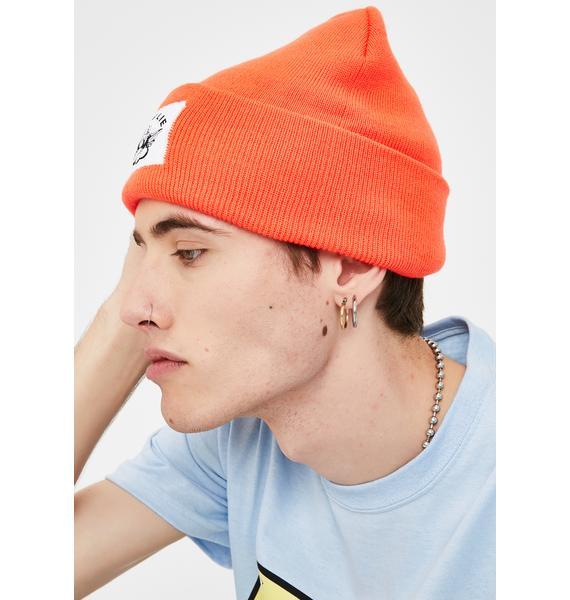 Boys Lie Orange Boys Lie Beanie