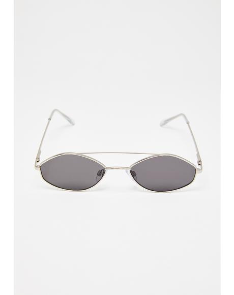 Stealth Moves Oval Sunglasses