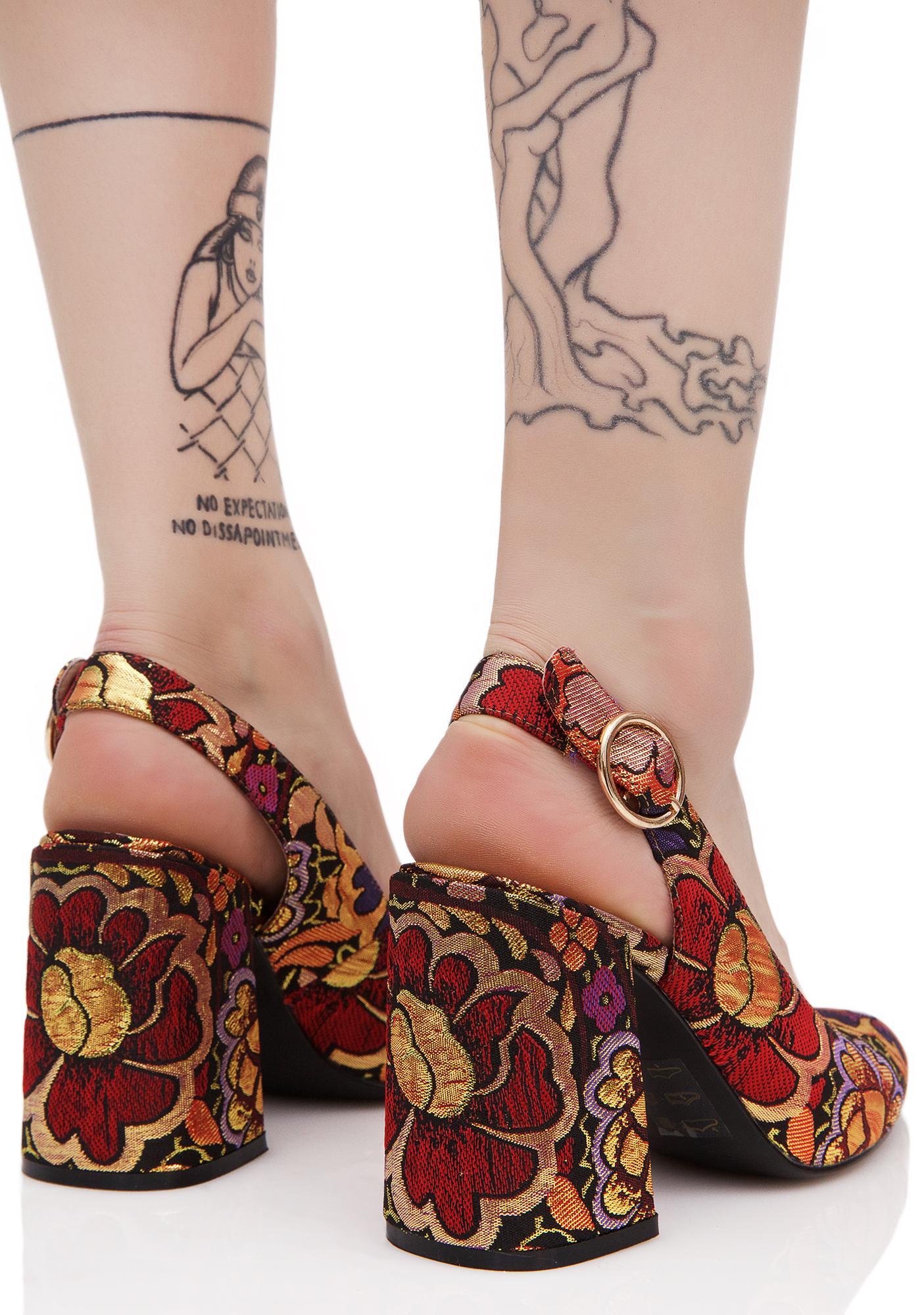 Shellys London Chester Kitten Heel