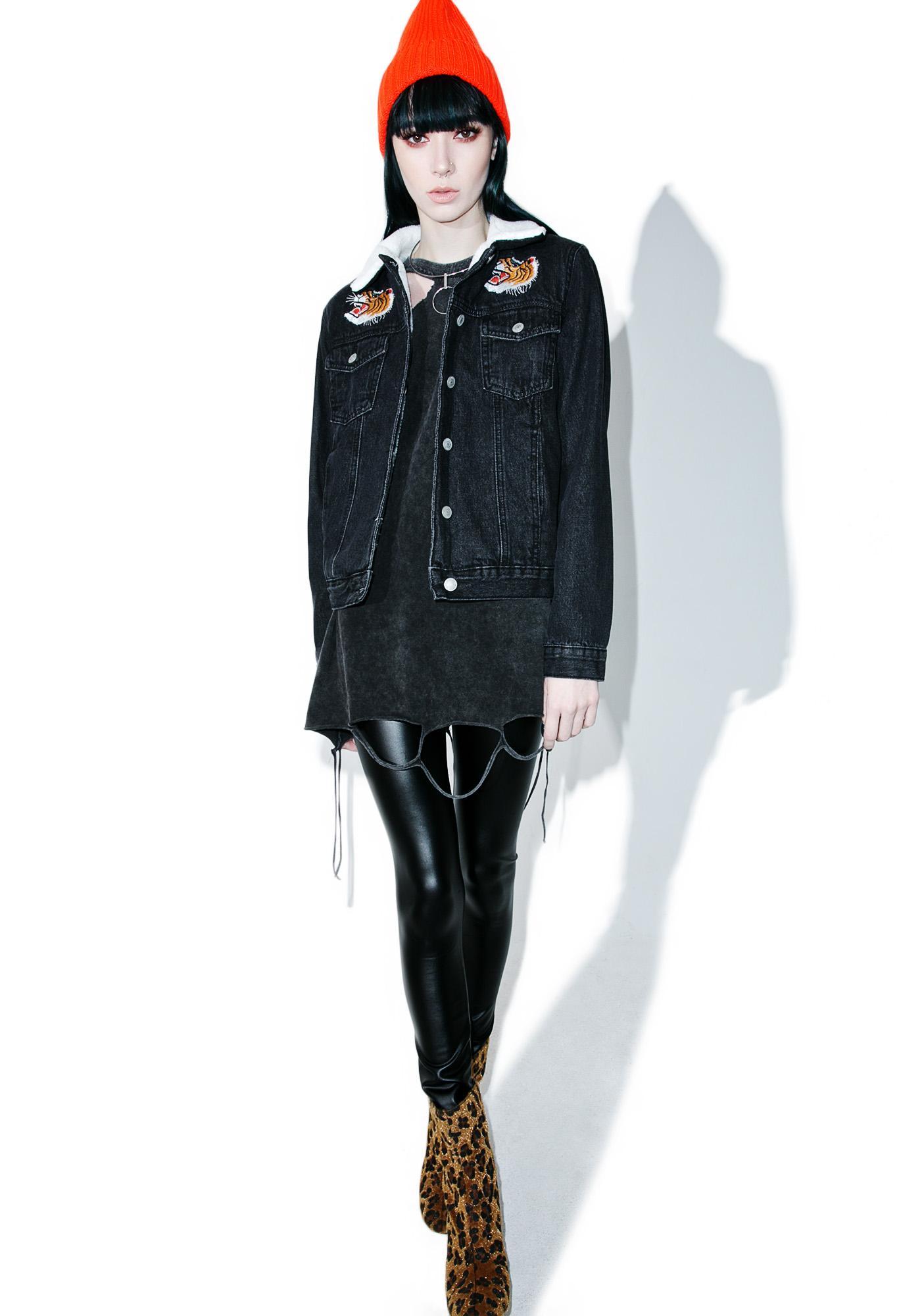 Glamorous Rising Pride Denim Jacket