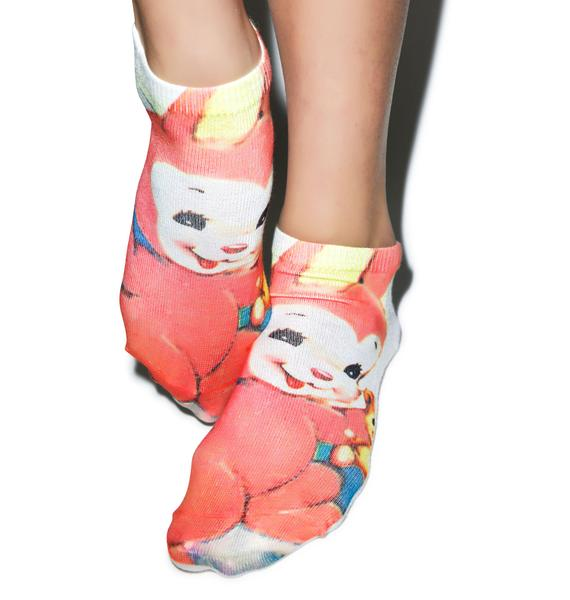 Old Skool Bunny Socks