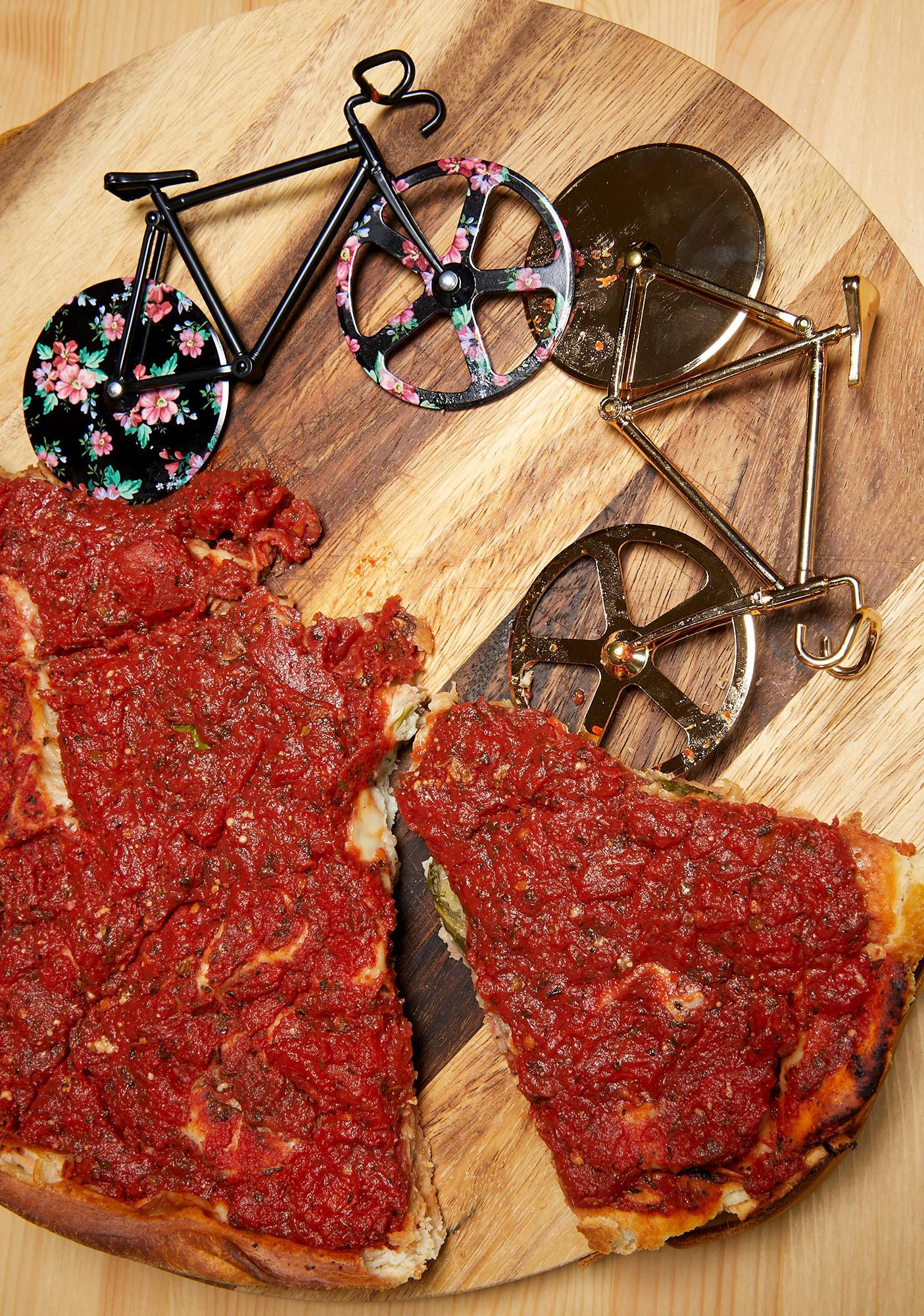 Rose Hot N' Ready Pizza Cutter