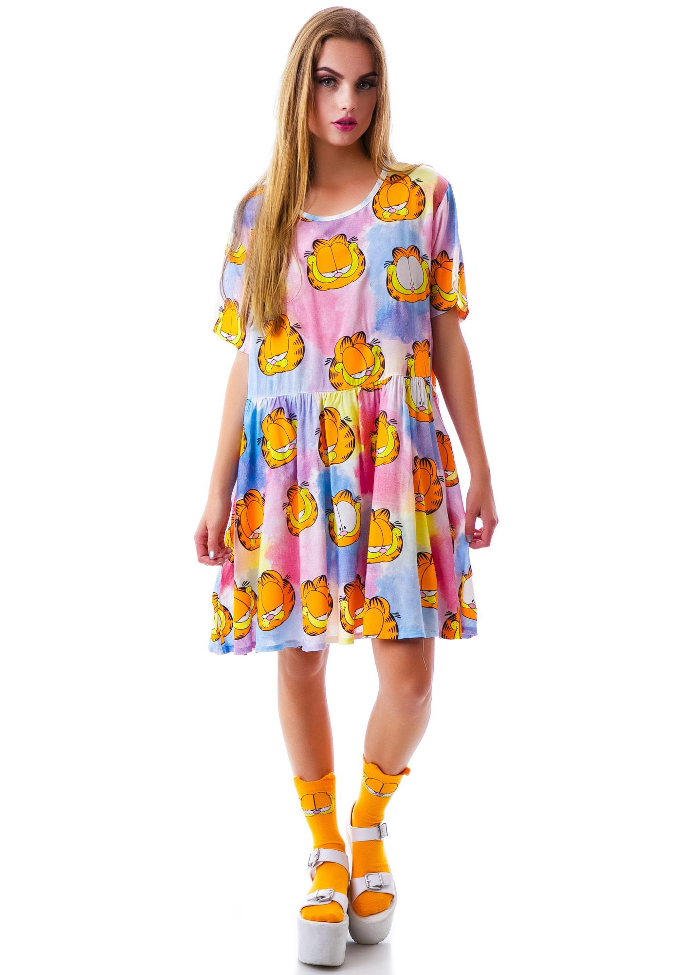Lazy Oaf x Garfield Nine Lives Dress