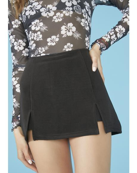 Under The Boardwalk Mini Skort