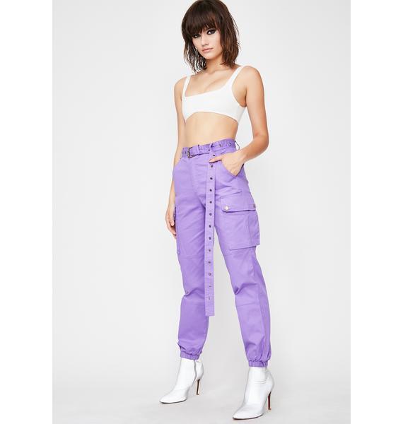 Grape Junglist Cargo Pants
