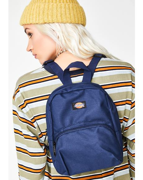 Navy Mini Backpack