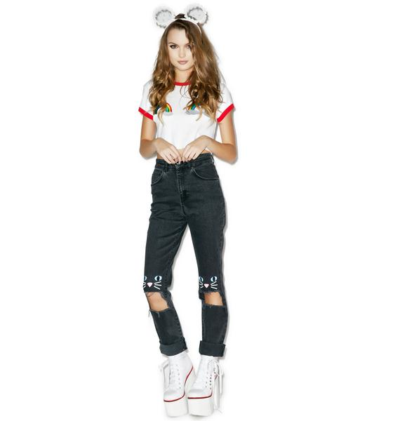 Lazy Oaf Kitty Kat Jeans