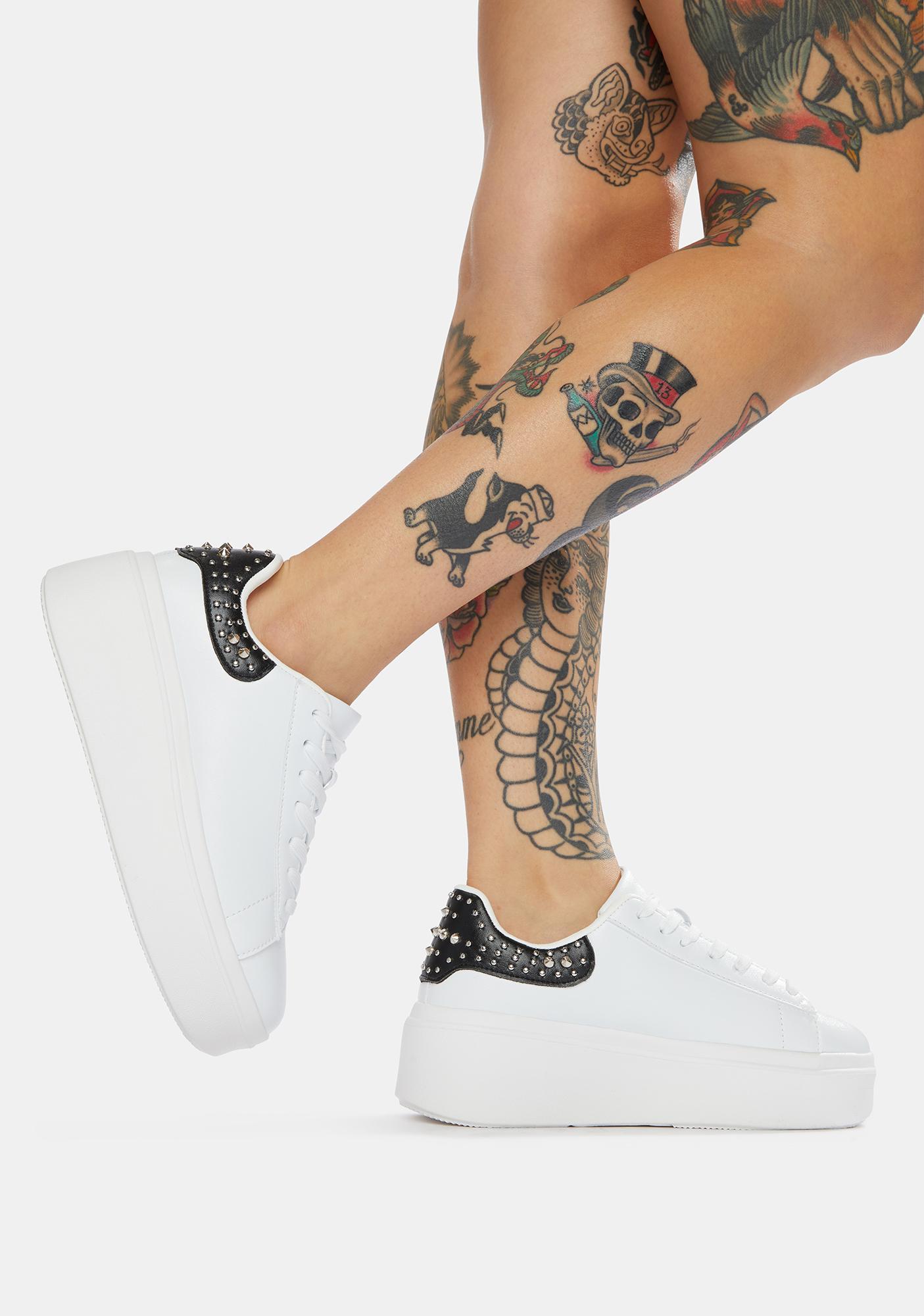 Onyx Waste The Night Platform Sneakers