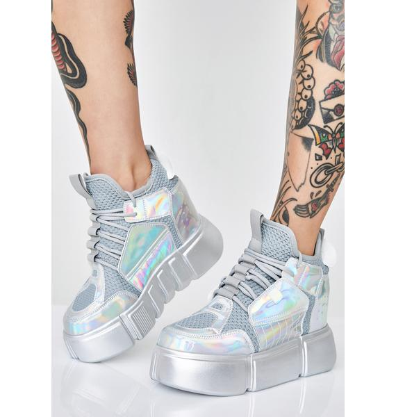 Anthony Wang Moon Invader Platform Sneakers