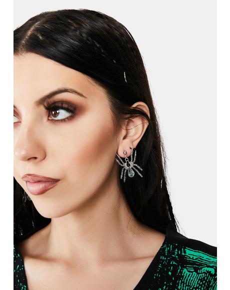 Creepy Crawly Drop Earrings