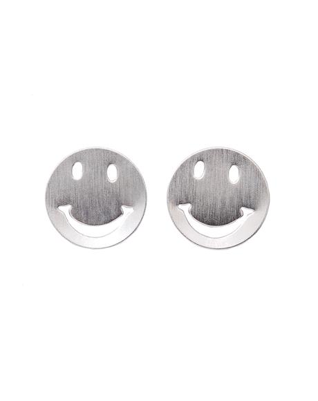Get Happy Smiley Face Earrings