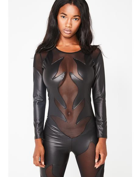 Devil Is A Woman Catsuit