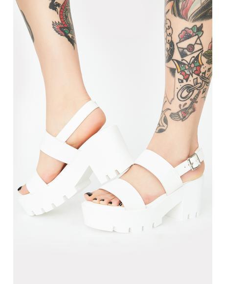 Pure Major Gossip Platform Sandals