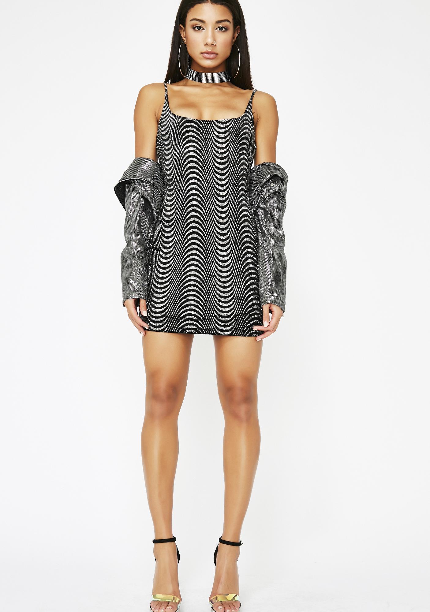 Trippin On Ya Mini Dress