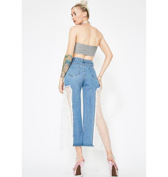 Star Power Cropped Jeans