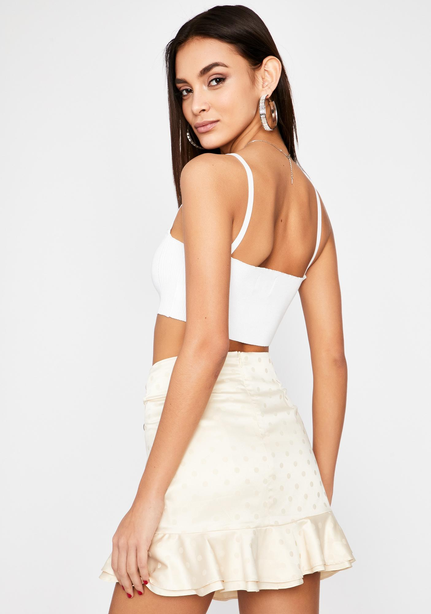 Daring Desire Ruched Skirt